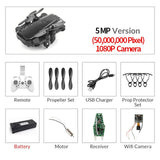 Foldable Mini Drone With RC Quadrocopter With Camera HD Quad-Counter With High Hold RC Helicopter VS E61 HS210 LF606 S9HW E016H