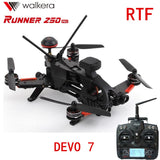 Original Walkera Runner 250 PRO + DEVO 7 GPS RC Racing Quadcopter Drone with Camera/OSD/GPS/DEVO 7 Transmitter RTF