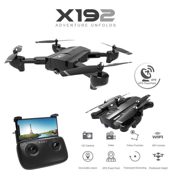 SG900 X192 GPS Quadcopter With 720P/1080P HD Camera Rc Helicopter GPS Fixed Point WIFI FPV Drones Follow Me Mode vs Hubsan H501s
