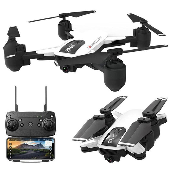 SHRC H1G 1080P 5G WiFi FPV GPS Follow Me Mode Foldable 25mins Flight Time One Key Return RC Drone Quadcopter RTF