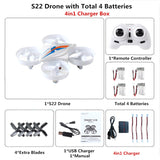 RC Mini Drone Dron Quadcopter Remote control Quadrocopter RC Helicopter 2.4G 6 Axis Gyro Drones with Headless Mode VS H36 E010