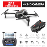 SG906 Profissional GPS 5G WiFi FPV Foldable Drone with Camera 4K Brushless Wide Angle Optical Flow RC Quadcopter Helicopter Toys