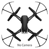 RC Drone With Camera HD 0.3MP/2MP RC Quadcopter WIFI FPV Remote Control Helicopter 800mAh Altitude Hold Mode Drone Red&Black