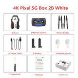 SG906 Portable RC Drone 4K GPS 5G WIFI FPV HD Dual Camera Dron Wide Angle Brushless Selfie Foldable Drone 4K Quadcopter Drones