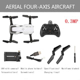 H2 2.4Ghz Foldable RC Quadcopter Drone Aircraft With Altitude Hold Headless Mode 360 degree 3D Flip One Key Start/Landing
