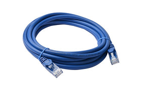 8Ware Cat6a UTP Ethernet Cable 3m Snagless Blue