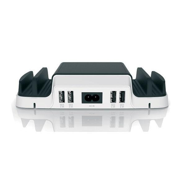 HUNTKEY 4-Port + 2 Micro USB Charging Dock