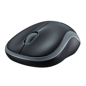 Logitech M185 Wireless Mouse Nano Receiver Grey 1-year battery life Logitech Advanced 2.4 GHz wireless connectivity
