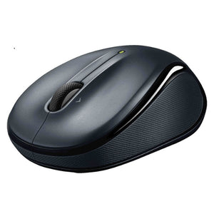 Logitech M325 Wireless Mouse Dark Grey Contoured design Glossy Comfort Grip Advanced Optical Tracking 1-year battery life