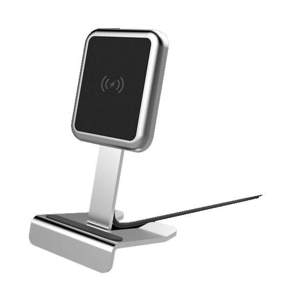 Sprout Wireless Charging Stand Silver
