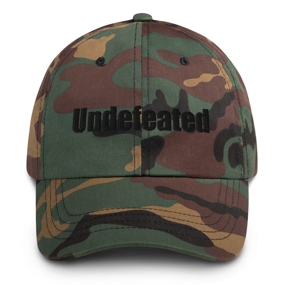Undefeated Dad Hat - Living for Today Boutique