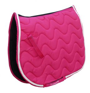 Rhinegold wave saddle pad, personalised saddlecloths, personalised horse hoodies, personalised horse rugs