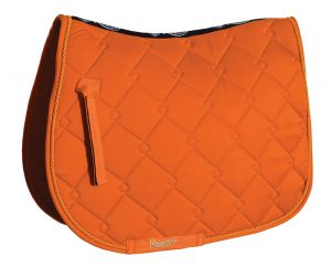 Personalised Rhinegold Elite Diamond Saddle Pad,