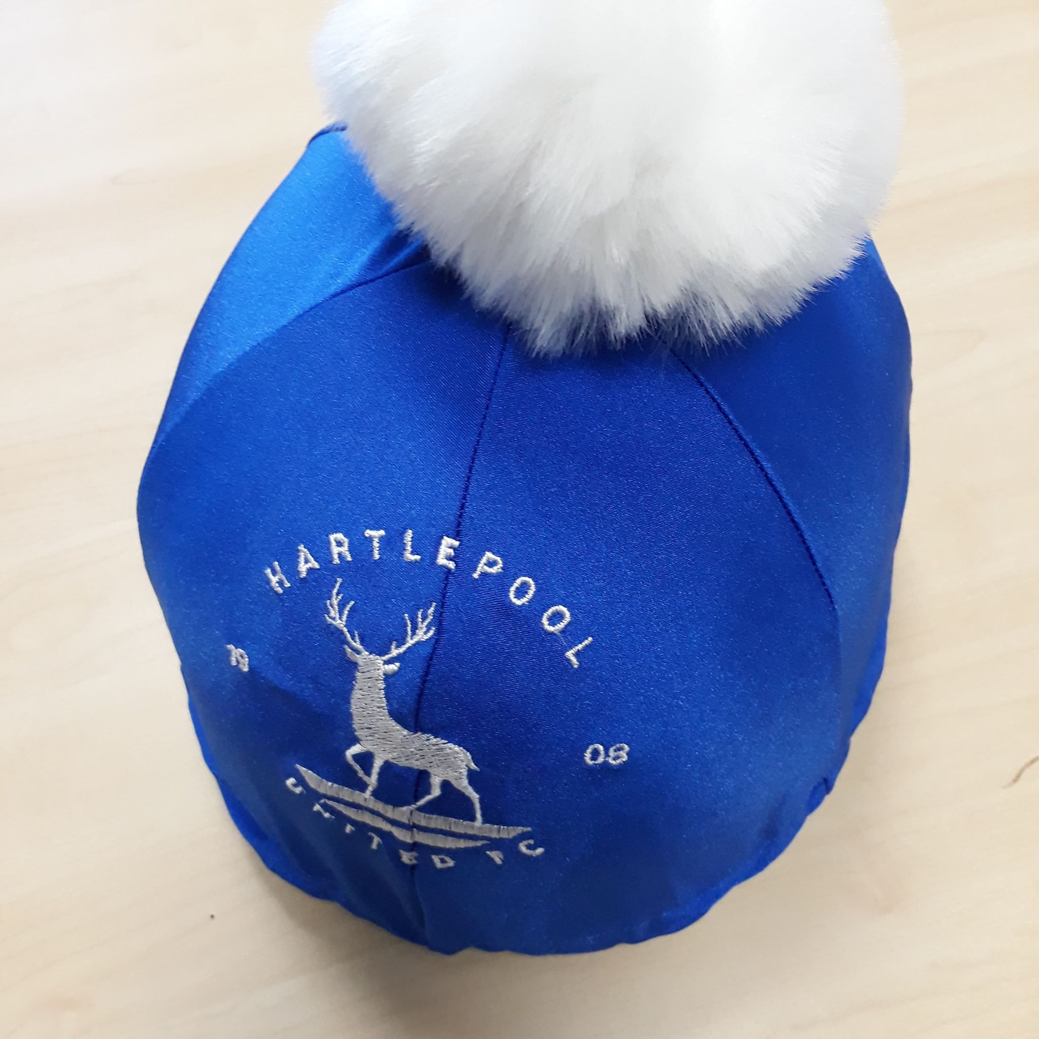 hat silk with logo, bespoke hat silk, personalised hat silks, bespoke equestrian wear, bespoke equestrian items