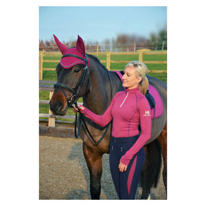 pink matching set, pink base layer, sport active base layer, personalised equestrian wear