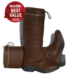 Rhinegold Elite Harlem Waterproof Country Boot
