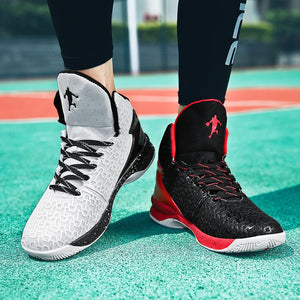 HUMTTO High-top Big Size Basketball Shoes Men Outdoor Sneakers