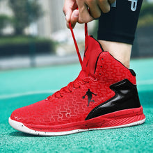 Load image into Gallery viewer, HUMTTO High-top Big Size Basketball Shoes Men Outdoor Sneakers