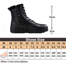 Load image into Gallery viewer, Army Military Boots Tactical Shoes Men&women