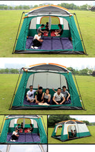 Load image into Gallery viewer, The camel outdoor New big space camping outing two bedroom tent
