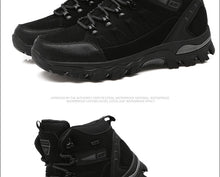 Load image into Gallery viewer, men mountain hiking boots waterproof woman trekking