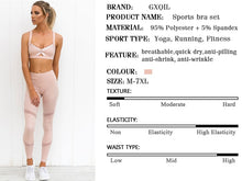 Load image into Gallery viewer, GXQIL 2020 Gym Clothing Fitness Suit Women Mesh