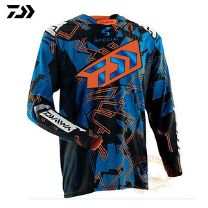 2019 DAIWA Men Fishing Clothing Ultrathin Long Sleeve