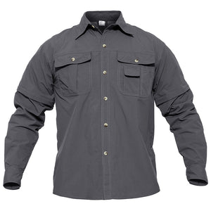 WOLFONROAD Men's Shirt Military Quick Dry Shirt