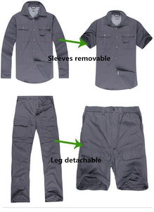 Quick-dry shirt&pants suit