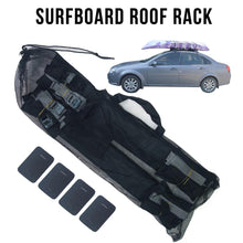 Load image into Gallery viewer, 2pcs / Pair Car Roof Rack Cushion Pads For Kayak Canoe Surfboard Paddle Snowboard Sup Board Racks Pads Surfboard Roof Rack