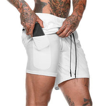 Load image into Gallery viewer, 2019 Summer Running Shorts Men 2 in 1 Sports