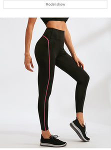 Sports Running Cropped Top +Leggings Set Women Fitness Suit
