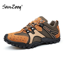 Load image into Gallery viewer, Men Outdoor Shoes Trekking Walking Tourism