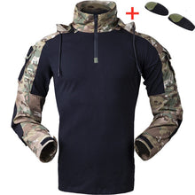 Load image into Gallery viewer, Tactical Gen3 Hooded Camo Uniform Military Shirt