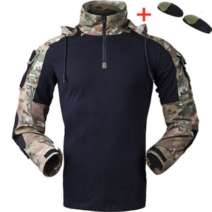 Tactical Gen3 Hooded Camo Uniform Military Shirt