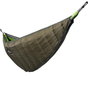 Winter Warm Sleeping Bag Hammock Underquilt Emergency Sleeping Bag Warmer Under Quilt Blanket for Outdoor Backpacking Camping