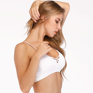 Acefancy Women Sport Bra Top Push Up