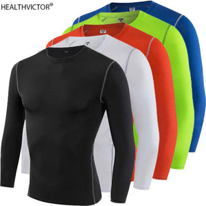 Stretchy Dry Fast Breathable Men Gym T-shirt undershirt