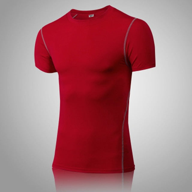 Dry Fast Breathable Stretchy Men Gym T-shirt