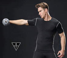 Load image into Gallery viewer, Dry Fast Breathable Stretchy Men Gym T-shirt
