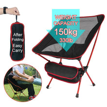 Load image into Gallery viewer, Foldable Camping Chair Fishing BBQ Hiking