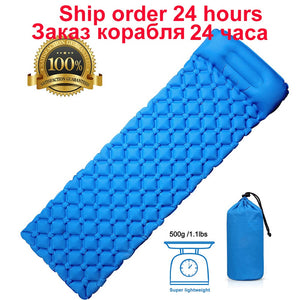 Rooxin Camping Sleeping Pad Inflatable Mattress