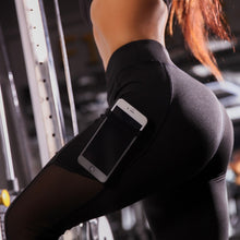 Load image into Gallery viewer, Tight Yoga Leggings with scrunch butt/high waist support