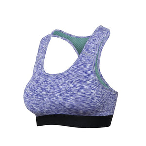 Acefancy Sport Bra Seamles Crop Tops for Women Gym Top Fitness Athletic Yoga Bra Padded Push Up 62503 Removable Pads Sport Bra