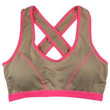 Load image into Gallery viewer, Padded Running Sports Bras Stretch Tank Top