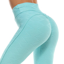 Load image into Gallery viewer, Tight Yoga Leggings with scrunch butt/ high waist support