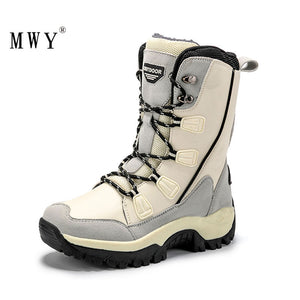 MWY Women Hiking Shoes Warm Tactical Boots
