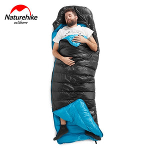 Naturehike  CWZ400 550FP Goose Down sleeping bags adult/ Envelope type 5-20℃/ 41-68F