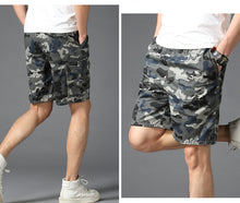 Load image into Gallery viewer, Cotton Camouflage Shorts Men