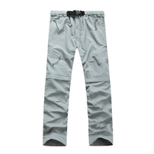 Load image into Gallery viewer, JACKSANQI Men's Quick Dry Detachable Hiking Pants